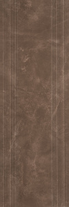 Avangard 400x1200 Wall Line Decor Brown Matt