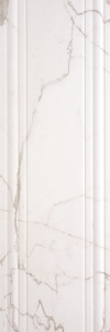 Infinity  400x1200 Wall Line Decor White Glossy