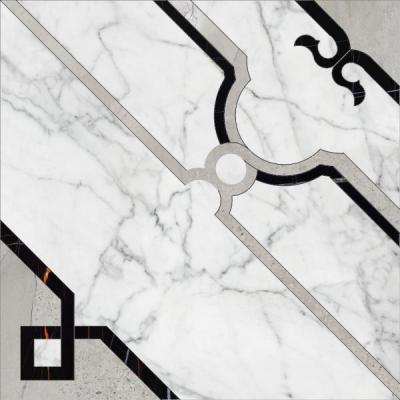 Панно K-1000/MR/d01 MARBLE TREND CARRARA D01-CUT MR 60х60 K-1000/MR/d01