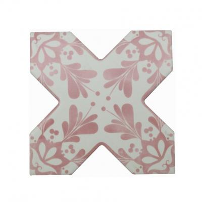 Becolors Cross Dec. Stencil Coral 13.25х13.25