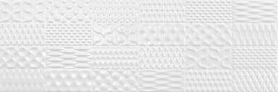 BLANCO BRILLO SINAN DECOR WHITE 30х90