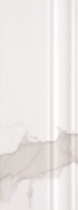 Infinity  150x400 Wall Skirting & Finishing White Glossy