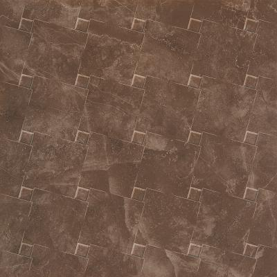 Avangard 600x600 Floor Decor Brown Glossy