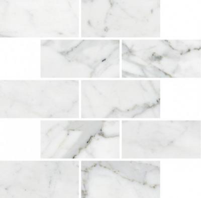 Мозаика K-1000/MR/m13 Marble Trend CARRARA 30,7х30,7