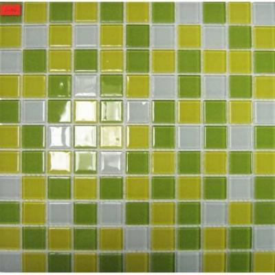 Мозаика Crystal Mosaic Lime 30x30 30201