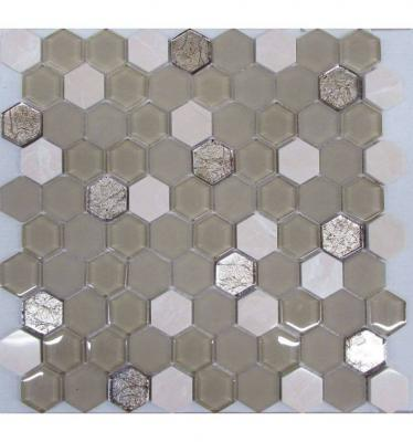 Коллекция Hexagon Glass LIYA Mosaic
