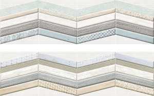 MEDITERRANEA DECOR CHEVRON Стена 29х100