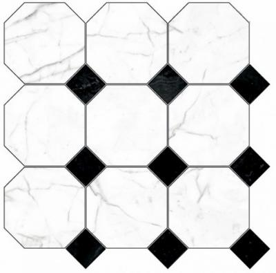 Панно Black & White K-61/LR/d02-cut Black 60x60 K-61/LR/d02