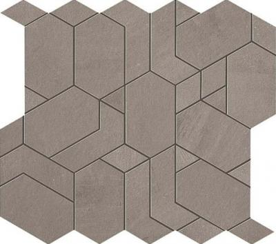 Мозайка Atlas Concorde Boost Grey Mosaico Shapes (AN65) 31x33,5 AN65